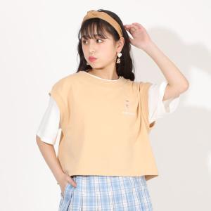 ベビードール BABYDOLL 子供服 PINKHUNT PH Tシャツ ベストセット 5357K キッズ ジュニア 女の子|babydoll-y