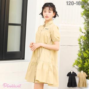ベビードール BABYDOLL 子供服 PINKHUNT PH ワンピース シャツ5358K キッズ ジュニア 女の子|babydoll-y