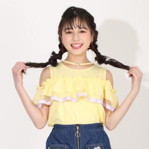 ベビードール BABYDOLL 子供服 PINKHUNT PH Tシャツ フリル 肩開き 5364K キッズ ジュニア 女の子|babydoll-y