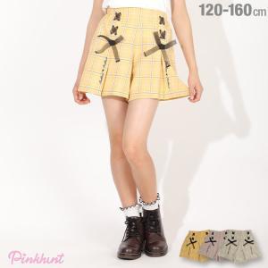 ベビードール BABYDOLL 子供服 PINKHUNT PH  ショートパンツ レースアップ キュロット 5365K キッズ ジュニア 女の子|babydoll-y