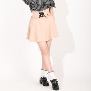 ベビードール BABYDOLL 子供服 PINKHUNT PH スカート レースアップ ハイウエスト 5366K キッズ ジュニア 女の子|babydoll-y