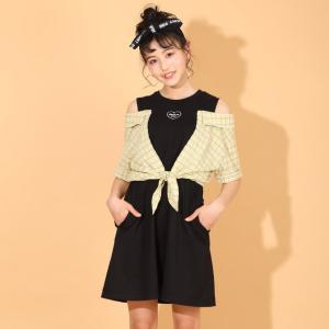 ベビードール BABYDOLL 子供服 PINKHUNT PH ワンピース シャツ付き 5367K キッズ ジュニア 女の子 20v|babydoll-y