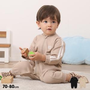 ベビードール BABYDOLL 子供服 ロンパース ラインジャージ 親子お揃い 5406B ベビーサイズ 男の子 女の子|babydoll-y