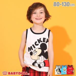 ベビードール BABYDOLL 子供服 ディズニー タンクトップ キャラ 5414K キッズ 男の子 女の子 DISNEY|babydoll-y