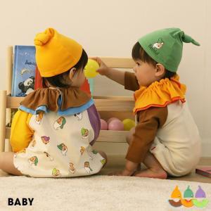 ベビードール BABYDOLL 子供服 ディズニー スタイセット ドーナツ 5415 ベビー DISNEY|babydoll-y