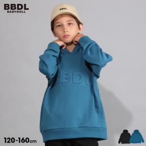ベビードール BABYDOLL 子供服 BBDL パーカー エンボス 5450K キッズ 男の子 女の子 babydoll-y