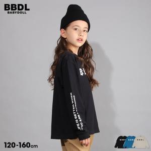 ベビードール BABYDOLL 子供服 BBDL ロンT ペイント ロゴ 5454K キッズ 男の子 女の子 babydoll-y