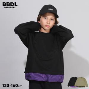 ベビードール BABYDOLL 子供服 BBDL トレーナー エンボス サークルロゴ 5474K キッズ 男の子 女の子 babydoll-y