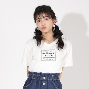 ベビードール BABYDOLL 子供服 PINKHUNT PH Tシャツ 背中 レースアップ 5516K キッズ ジュニア 女の子 20v|babydoll-y