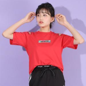 ベビードール BABYDOLL 子供服 PINKHUNT PH Tシャツ 肩あき オーロラプリント 5520K キッズ ジュニア 女の子 20v|babydoll-y