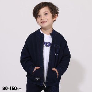 ベビードール BABYDOLL 子供服 ディズニー ジャケット ニットデニム 5605K (ボトム別売) キッズ 男の子 女の子 DISNEY|babydoll-y