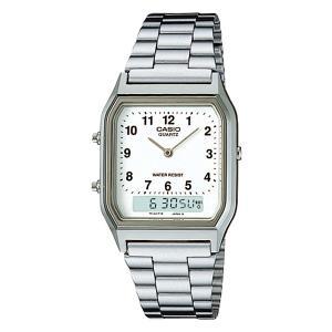 カシオ 腕時計 メンズ 防水 アナログ ビジネス スタンダード AQ-230A-7BMQYJF babygoods