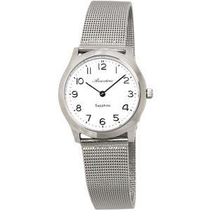クレファー 腕時計 レディース 5気圧 防水 アナログ シンプル 薄型 AVT-1389-WTS babygoods