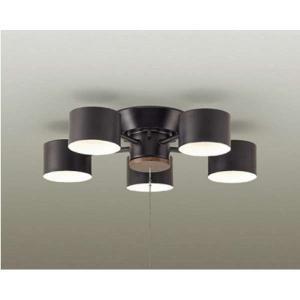 LED シャンデリア シンプル 5灯 6畳 電球色 ダイコー DXL-81404|babygoods
