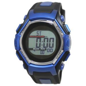 クレファー 腕時計 メンズ 電波 ソーラー デジタル 5気圧防水 FDM7861-BL babygoods