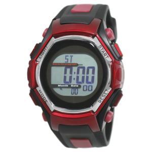 クレファー 腕時計 メンズ 電波 ソーラー デジタル 5気圧防水 FDM7861-RD babygoods