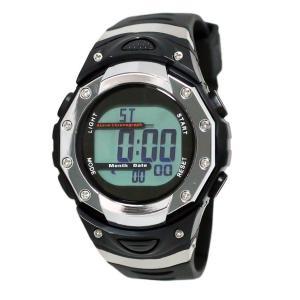 クレファー 腕時計 メンズ 電波 ソーラー デジタル 5気圧 防水 FDM7863-SV babygoods