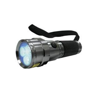 コンテック 日亜化学工業社製UV-LED搭載 3灯パワーブラックライト 実用点灯20時間 PW-UV343H-02|babygoods