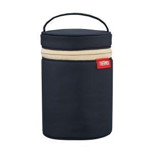 サーモス スープジャーポーチ ブラック 300~500ml用 RET-001 BK babygoods
