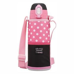 象印 水筒 直飲み ステンレスクールボトル 0.8L ピンクブラック SD-JK08-BP babygoods