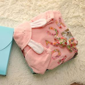 にぎにぎとセットで可愛くラッピング♪Namingジャンパーとリバティプリントにぎにぎセット(出産祝い・名入れ・名前入り・誕生日・赤ちゃん・ベビー)(BOX付き)|babygoose