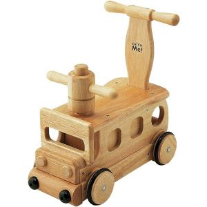 木's乗用ブーブー 乗用玩具 足けり乗用 木製押車 シンプル|babyish