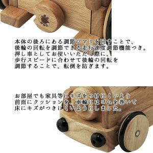 木's乗用ポッポ 乗用玩具 足けり乗用 木製押車 シンプル babyish 03