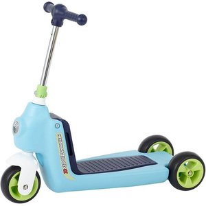 へんしん ライダーα ブルー キックボード スクーター バイク|babyish