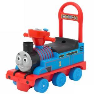 乗用トーマス リアルビークル 乗用玩具 足けり乗用 押し車|babyish