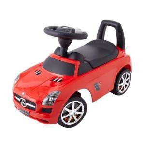 乗用メルセデスベンツ SLS AMG  レッド 乗用玩具 足けり車 子供用乗り物|babyish