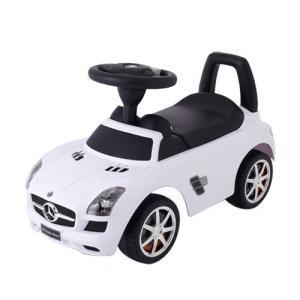 乗用メルセデスベンツ SLS AMG  ホワイト 乗用玩具 足けり車 子供用乗り物|babyish