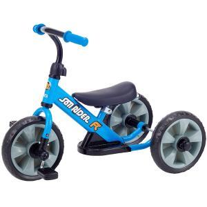 へんしん サンライダーFC ブルー 三輪車 バランスバイク へんしんバイク カジキリ機能付き押手棒 babyish 04