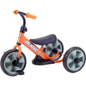 へんしん サンライダーFC オレンジ 三輪車 バランスバイク へんしんバイク カジキリ機能付き押手棒|babyish|04