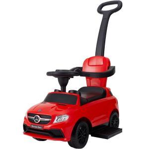 乗用メルセデスベンツ レッドト 押手付 乗用玩具 足けり車 子供用乗り物