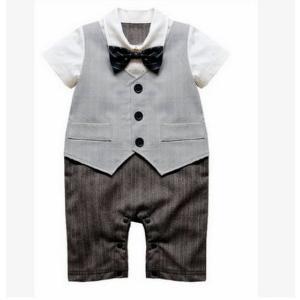 ベビー子供服0歳-3歳男の子兼用洋服タキシード/フォーマルス...