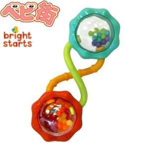 在庫あり ブライトスターツ バーベル ラトル Bright Starts パパジーノ 歯がため 赤ちゃん おもちゃ|babymachi