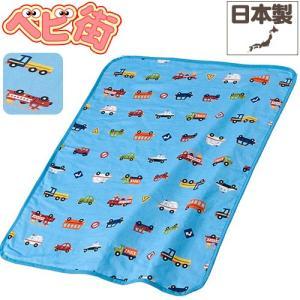 ベビー布団 フジキ 4重ガーゼケット くるまパーク/ブルー/寝具グッズ ふとん 日本製 お出かけグッズ ひざ掛け ブランケット 赤ちゃん|babymachi