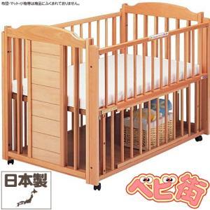 ベビーベッド サワベビー O型ドロール ナチュラル/澤田工業 ベビーベット 多機能ベッド 変形ベッド 送料無料|babymachi