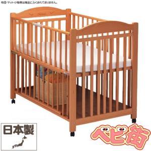 ベビーベッド サワベビー N型ナチュレ ナチュラル 澤田工業 ベビーベット アレルギー対策ベッド 送料無料|babymachi