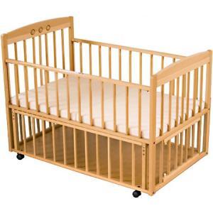 ベビーベッド サワベビー ティアラDX ナチュラル 澤田工業 ベビーベットアレルギー対策 添い寝ベッド 送料無料|babymachi|06
