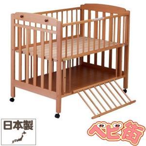 ベビーベッド サワベビー I型エトワール ナチュラル/澤田工業 ベビーベット ハイタイプ  アレルギー対策ベッド 送料無料|babymachi