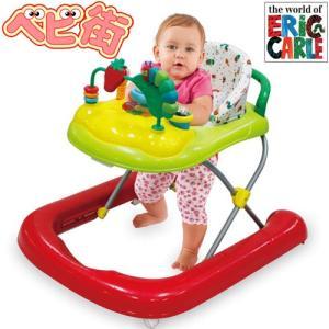 日本育児 はらぺこあおむし 2in1ウォーカー/エリック・カール ベビーウォーカー 歩行補助 赤ちゃん 乗り物|babymachi