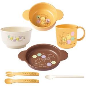 ベビー食器 コンビ くまのプーさん スマイル食器セットC/離乳食 調理器 赤ちゃん 食事|babymachi|04