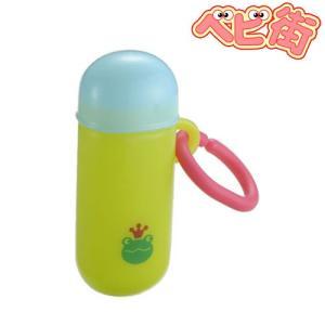 ベビー食器 在庫あり リッチェル おでかけランチくん 赤ちゃんせんべいケース 筒タイプ グリーン ベビー食器 お出かけグッズ|babymachi