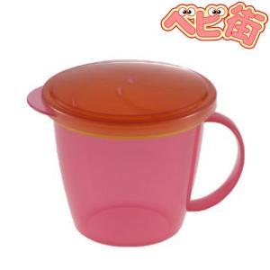 リッチェル こぼれないスティックカップ ピンクP おやつ ベビー食器 お出かけグッズ|babymachi
