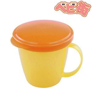 リッチェル こぼれないスティックカップ イエローY おやつ ベビー食器 お出かけグッズ|babymachi