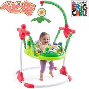 日本育児 はらぺこあおむし アクティビティ ジャンパー/プレイジム 出産祝い ジャンパルー ジャンプ遊び 知育玩具 エリック・カール 送料無料|babymachi