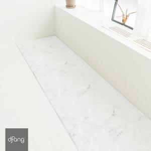 dfang ペット専用マット 折りたためる廊下敷きタイプ  防水マット 滑り止めマット 洗える ずれない 拭くだけ簡単手入れ 脱臼予防 マーブル|babymate