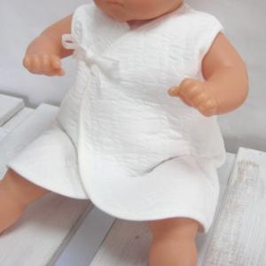 新生児ベビー用 インナーベスト肌着 防寒 冬物あったか素材 ホワイト 日本製 赤ちゃん用ベスト|babynetshop