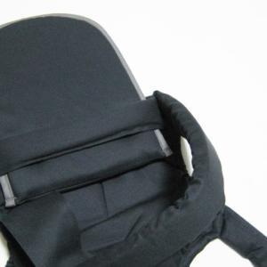 昔ながらのバッテンおんぶひも 日本製 使いやすいコンパクトデザイン おんぶ紐 ばってん 抱っこひも 濃紺 OPPER クロス 専用紐|babynetshop|04